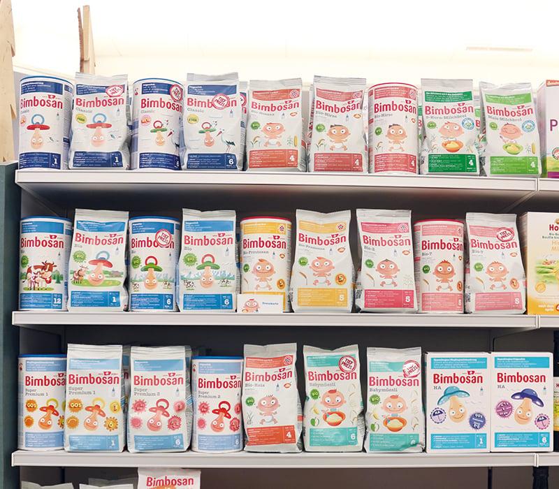 Bimbosan ist aus den Schweizer Apotheken- und Drogerieregalen nicht wegzudenken